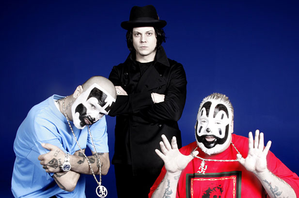 1192679 insane clown posse jack white 617 409 The Insane Clown Posses Secret Destiny: Outlaw Country Musicians