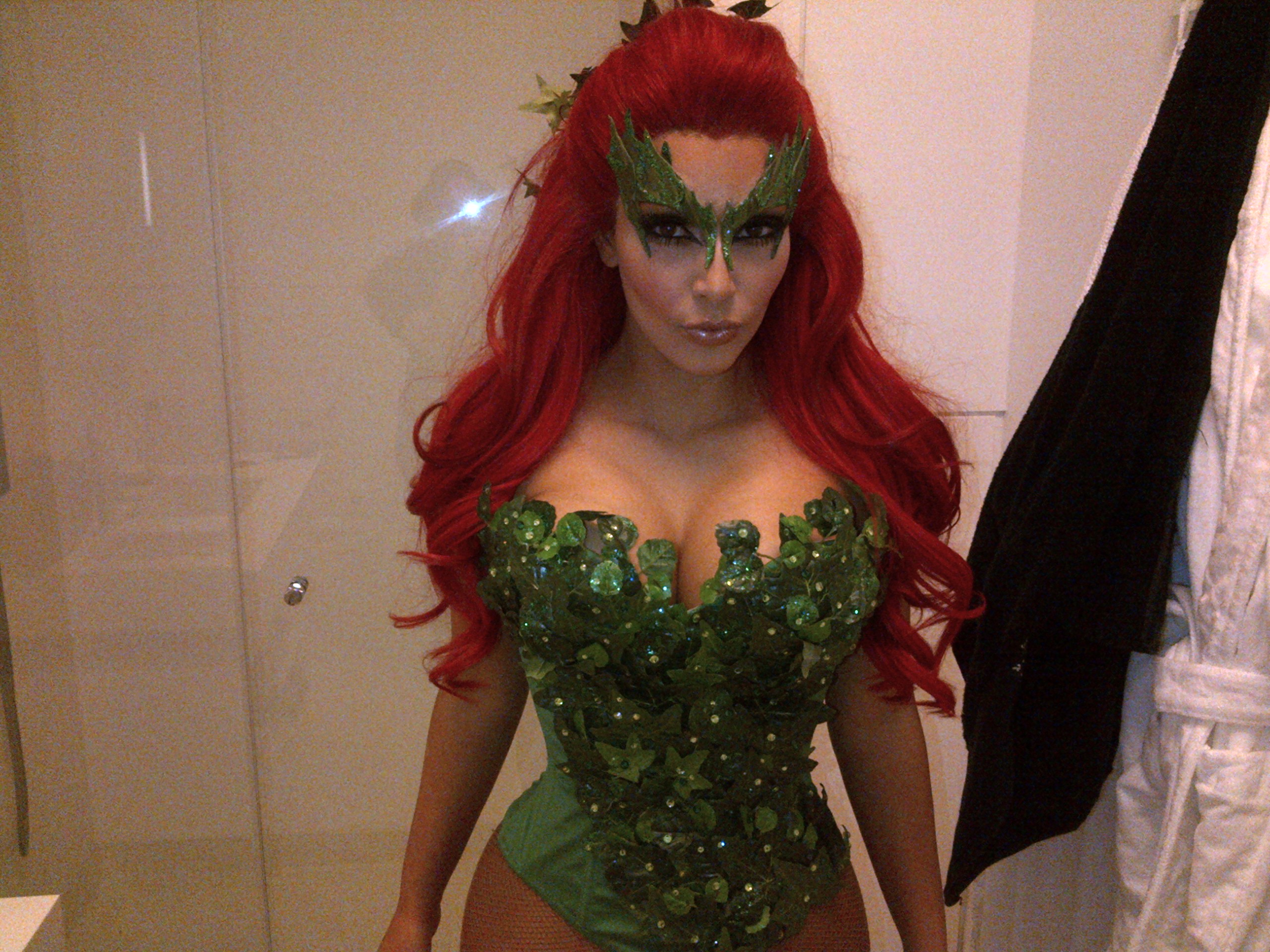 Kim Kardashian Poison Ivy You Know What Makes Perfect Sense?