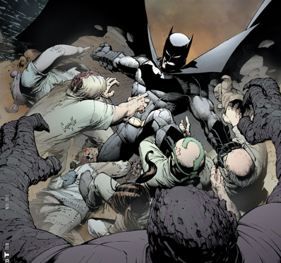Picture 1 The New 52: Batman #1, Batman and Robin #1, Batman: Dark Knight #1, and Detective Comics #1