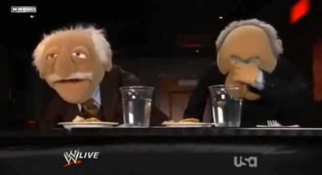Statler and Waldorf Facepalm