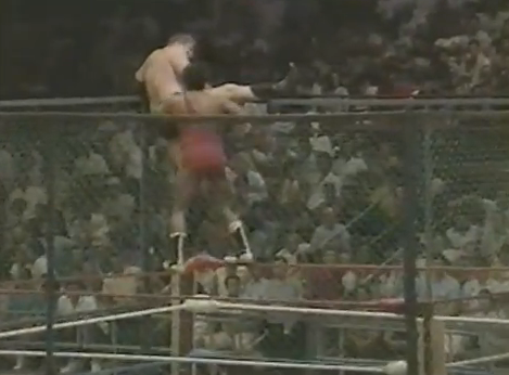 Picture 2 Carlos Colon vs. Stan Hansen (??/??/87)