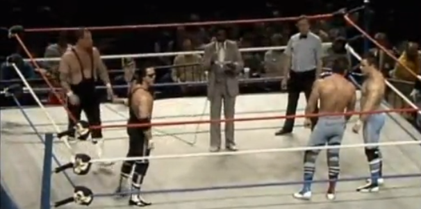 Picture 20 Hart Foundation vs. British Bulldogs (11/8/85)