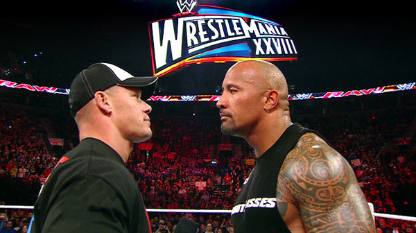 Rock and John Cena WrestleMania 28 Preview: The Cult of Insecurity
