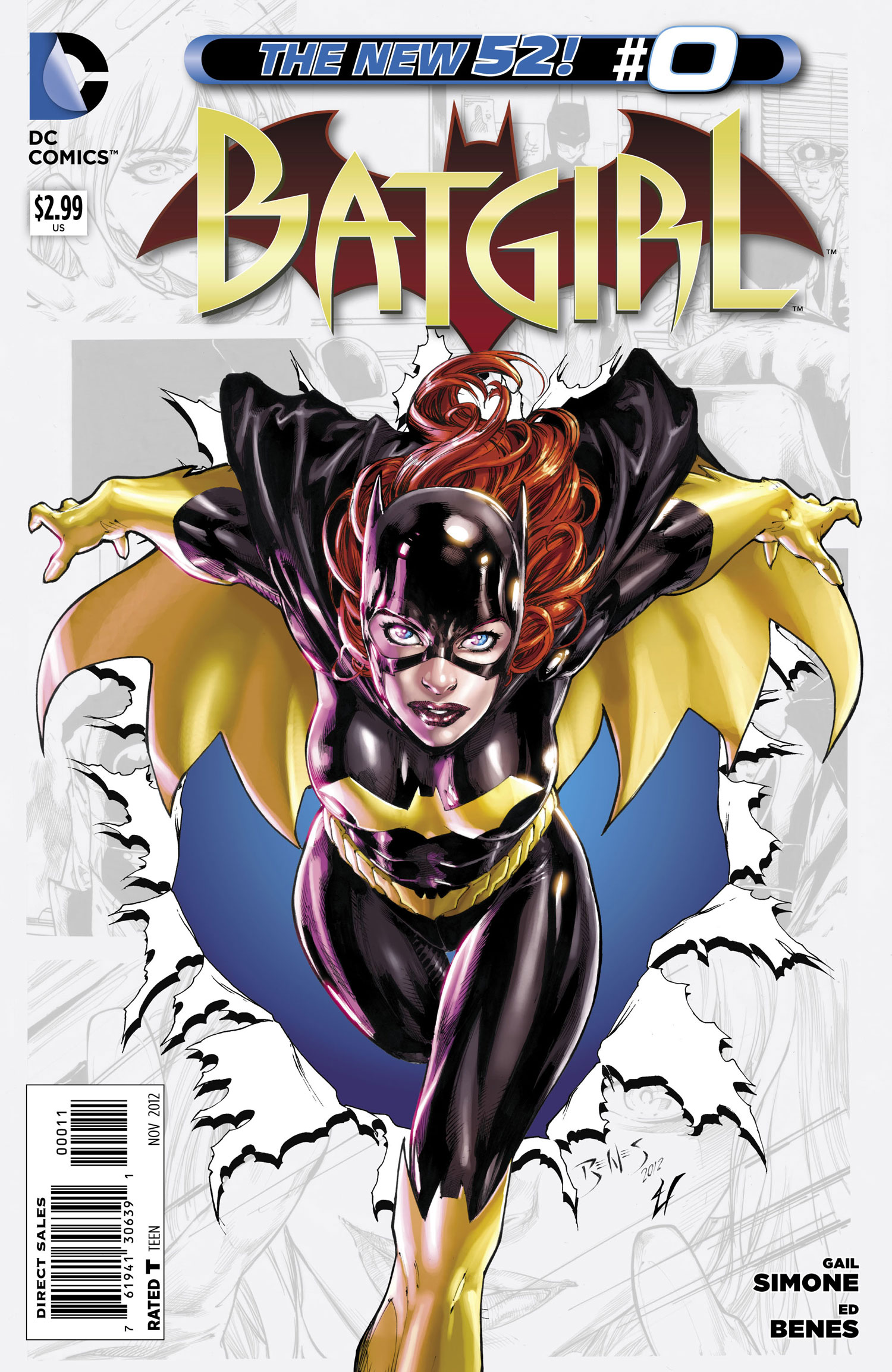 Batgirl Issue 0 First Issue Collectors Item: Batgirl #0 (2012)