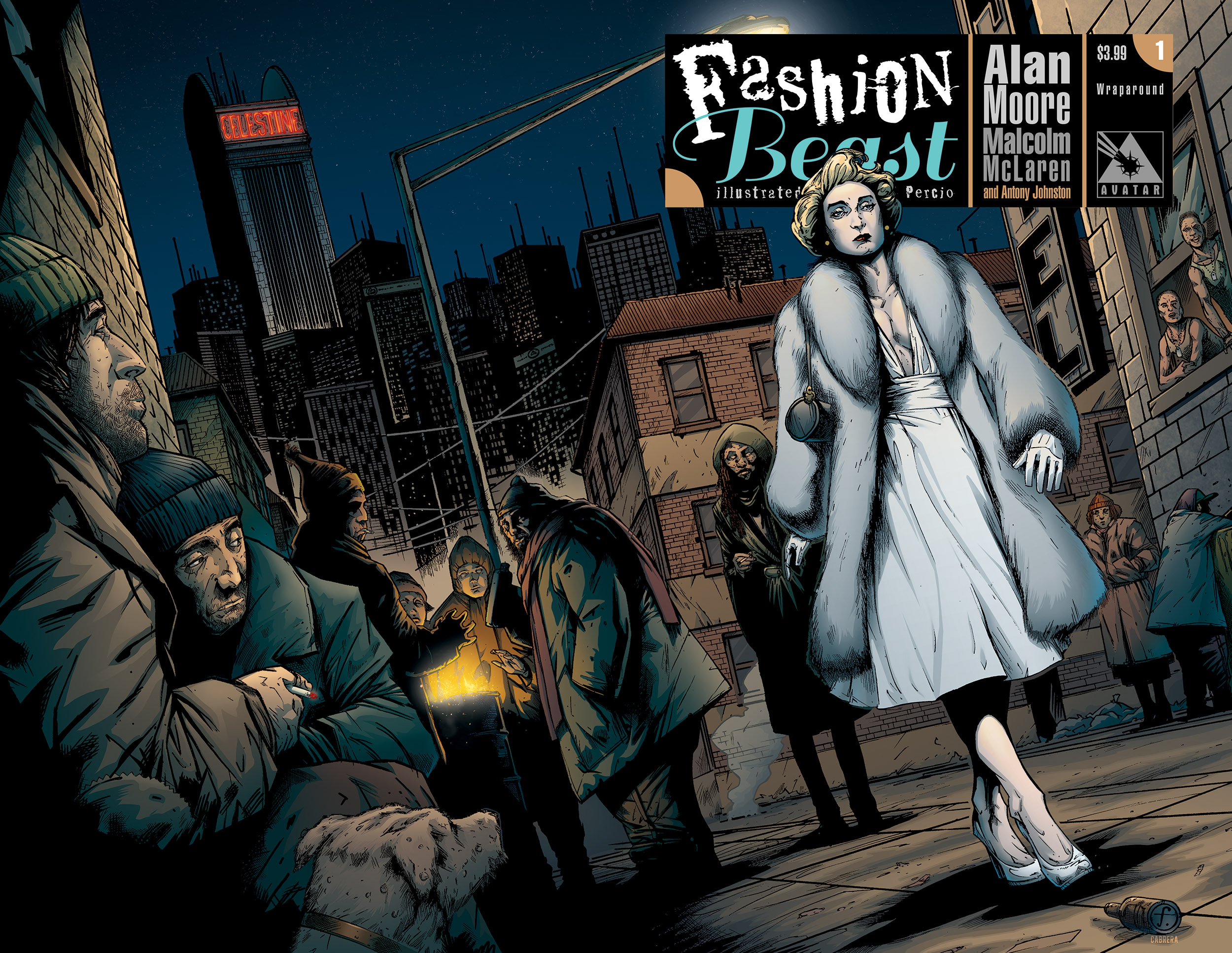 FashionBeast1wrap First Issue Collectors Item: Fashion Beast #1 (2012)