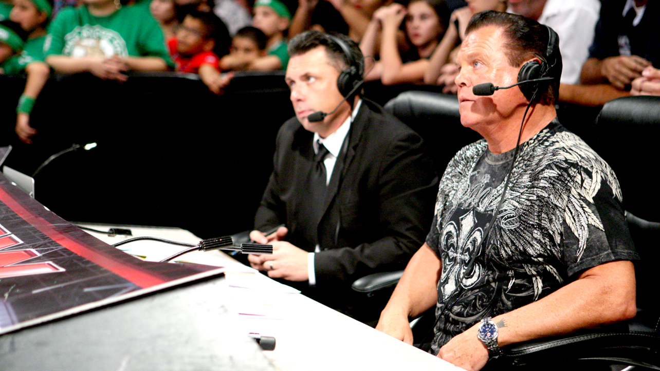 Jerry Lawler Michael Cole Jerry The King Lawler and the Reality of Wrestling Announcers