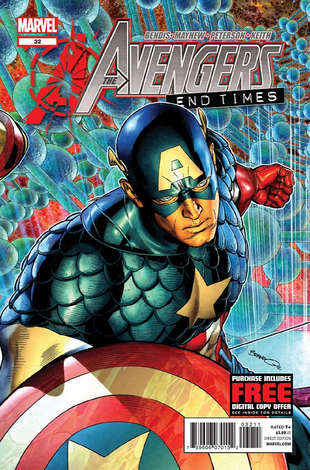 Avengers 32 Comic Book Review: Avengers #32