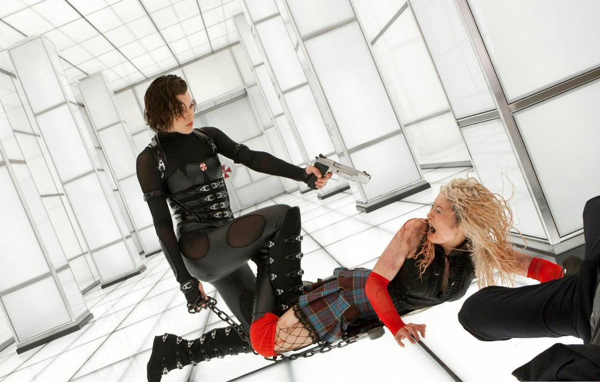 Resident Evil Retribution Movie Review: Resident Evil: Retribution (2012)