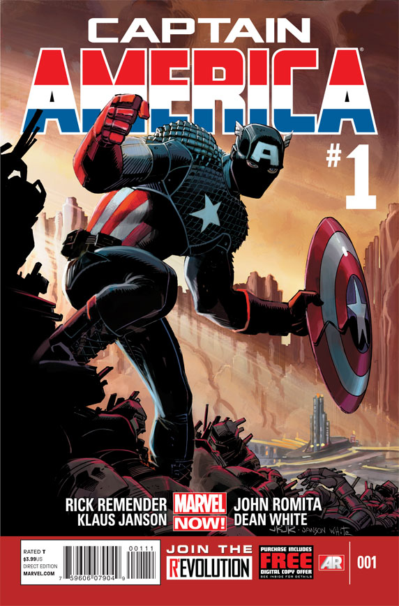 CaptainAmerica 1 Cover Comic Book Review: Captain America #1