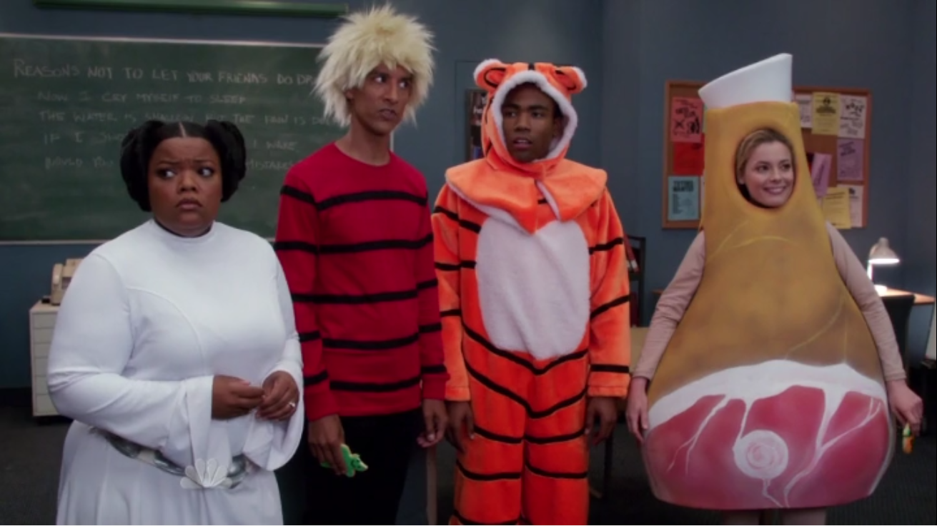 Community Costumes TV Review: Community S4E02   Paranormal Parentage