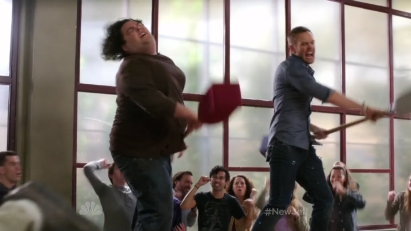 Community Gladiators TV Review: Community S4E01   History 101