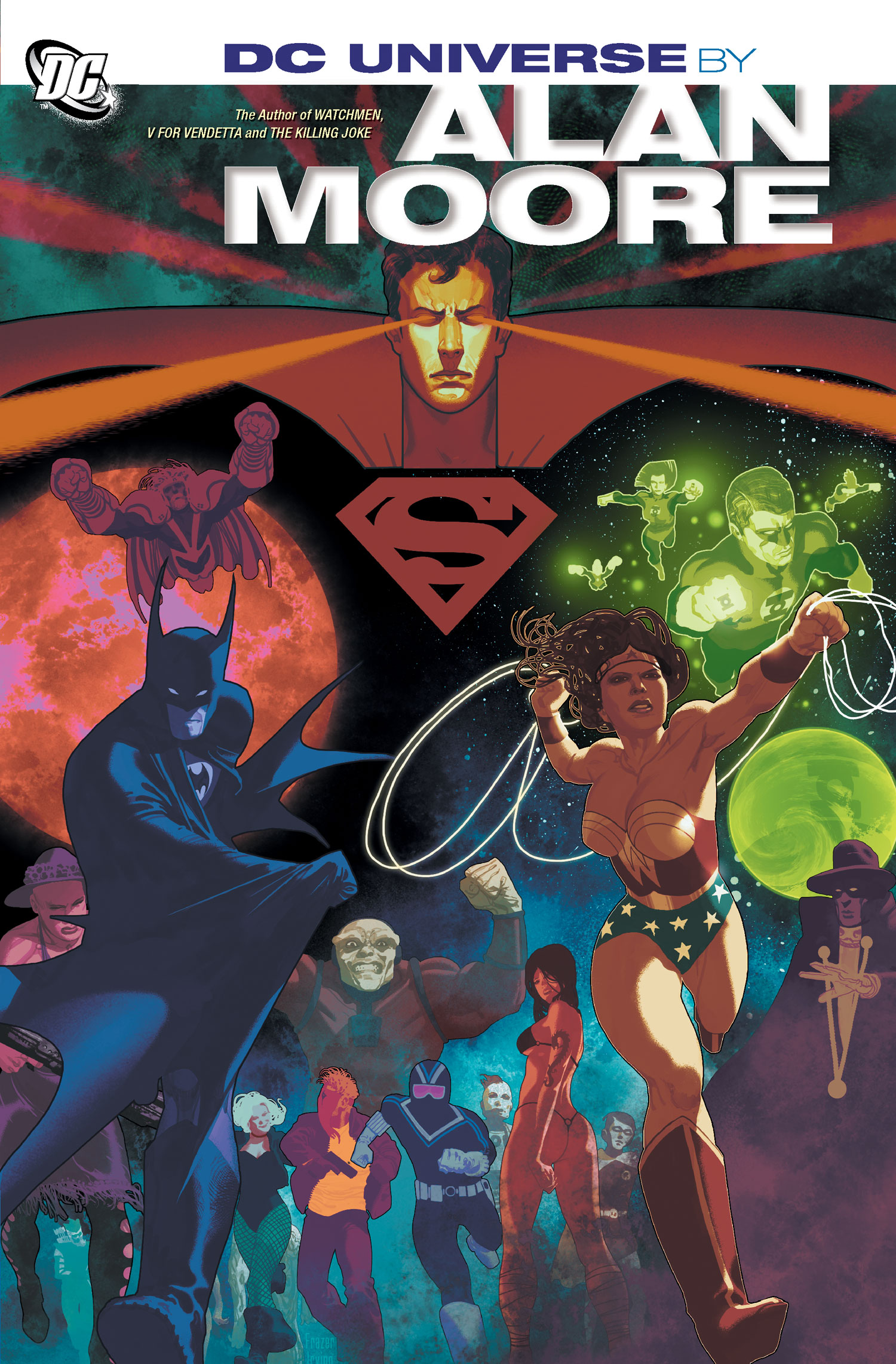 DCU by Alan Moore Graphic Novel Review: DC Universe by Alan Moore (2013)